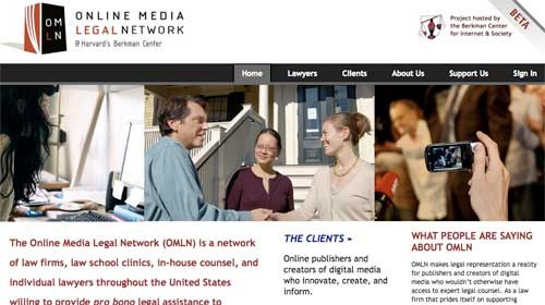 """Online Media Legal Network"" ofrece asistencia legal gratuita para Bloggers"