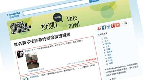 FreeWeibo permite eludir la censura a los usuarios del Twitter chino