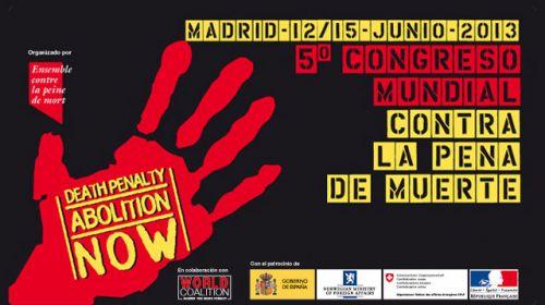 5º Congreso mundial contra la pena de muerte: la movilización ciudadana para la abolición