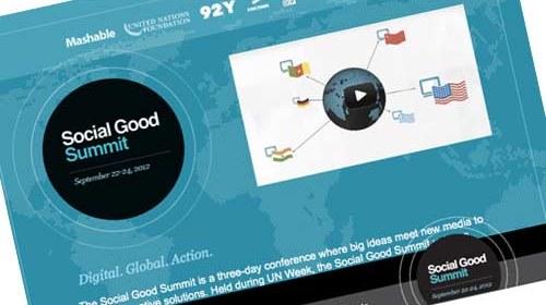 """""""Social Good Summit"""": pensamiento innovador y tecnología"""