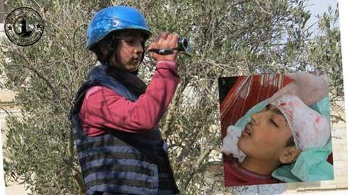 Fallece a los 14 años el periodista ciudadano sirio Omar Qatifaan #Daraa