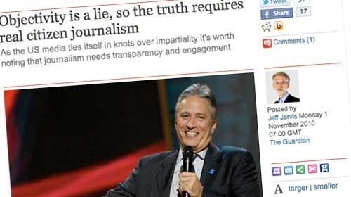 """Jeff Jarvis: """"La objetividad es una mentira, así que la verdad exige auténtico periodismo ciudadano"""""""