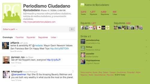 Los 10 twitteros del periodismo ciudadano