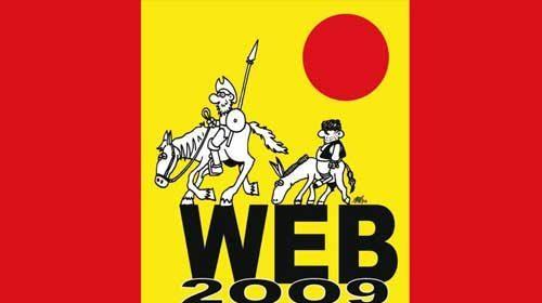"""Tim Berners-Lee y Vinton Cerf en el """"Congreso Internacional WWW 2009"""""""
