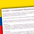Personas con discapacidad recibirán formación como reporteros ciudadanos en Ecuador
