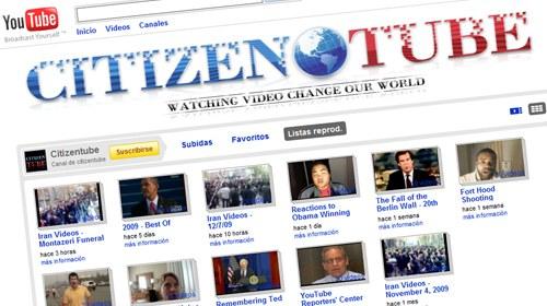 Los mejores vídeos del año en Citizentube