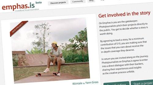 Emphas.is, una plataforma colaborativa para proyectos de fotoperiodismo