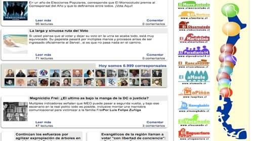 """Once medios ciudadanos y 7.000 corresponsales conforman la red chilena """"Diarios Ciudadanos"""""""