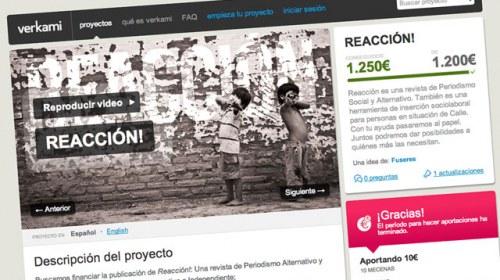 Crowdfunding en defensa del periodismo ciudadano