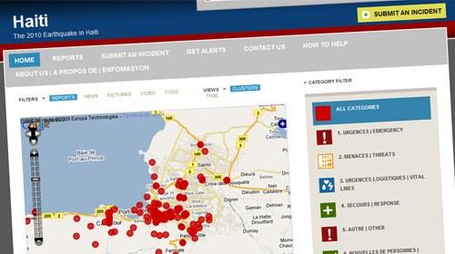 Ushahidi crea una plataforma de seguimiento ciudadano para la catástrofe de Haití