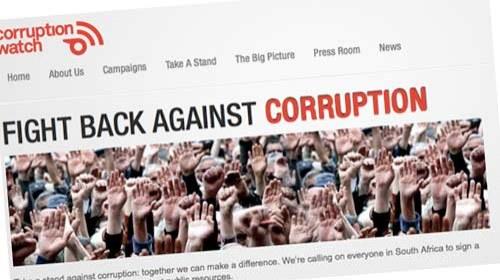 Corruption Watch: un observatorio de la corrupción en el sur de #África
