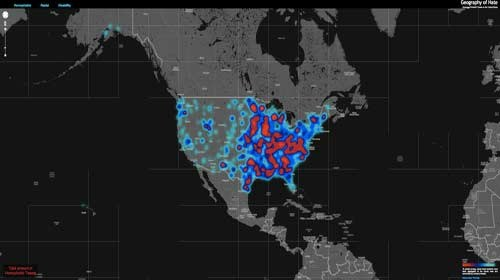 """""""Geography of Hate"""": geolocalizando el odio a través de las redes sociales"""