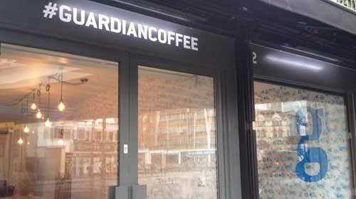 The Guardian abre su redacción a los ciudadanos con la cafetería: #Guardiancoffee