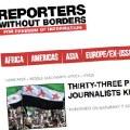 33 periodistas ciudadanos y profesionales asesinados en Siria