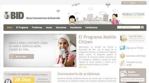 Mobile Citizen Project: Iniciativas móviles para el cambio social en América Latina
