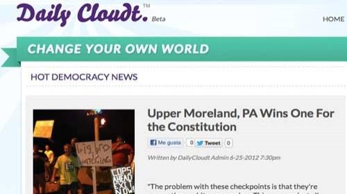 """DailyCloudt.com: crowdsourcing y periodismo ciudadano para """"fortalecer otras formas de democracia"""""""