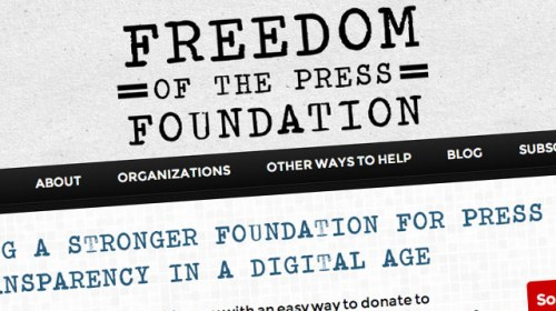 Freedom of the Press Foundation, crowdfunding para el periodismo de interés público