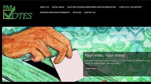 Pakvotes: una herramienta de vigilancia electoral para luchar por la transparencia en Pakistán