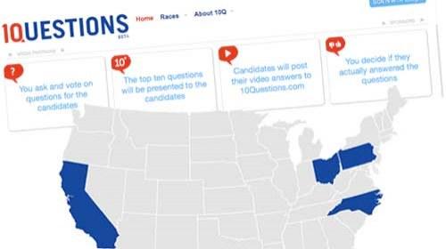 """10Questions.com: """"Dinamizando el debate político en la era digital"""""""