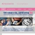 Tú eres el artista. Participa con tus fotos en #Empoderarte