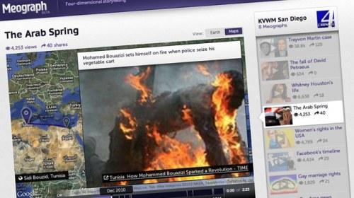 4D Storytelling: curando noticias en contexto con Meograph