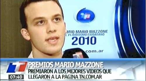 Ganadores del premio Mario Mazzone al Periodismo Ciudadano 2010