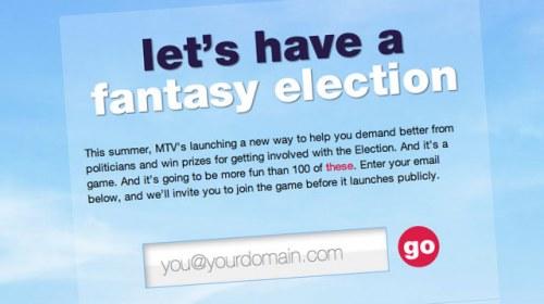 MTV y las presidenciales de EE.UU., del periodismo ciudadano al juego online