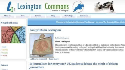 La Universidad de Kentucky ofrece clases gratuitas de periodismo ciudadano