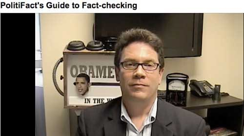 PolitiFact publica en Reporters' Center una guía para contrastar la información
