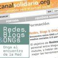 """Periodismo Ciudadano en el encuentro """"Redes, Blogs & ONGs"""" de Canal Solidario"""