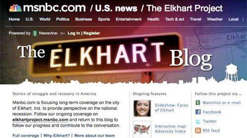 """""""Elkhart Project"""": Periodismo ciudadano desde la Ciudad de la Recesión"""