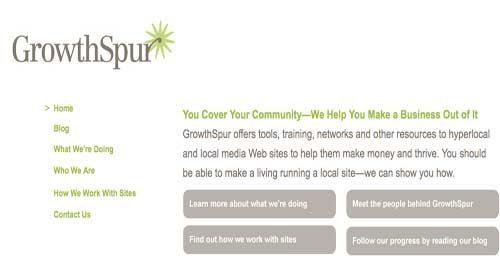 GrowthSpur: Una consultora para ayudar a los medios locales en línea