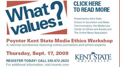 "Dan Gillmor y Josh Marshall en la ""Poynter KSU Media Ethics Workshop"""