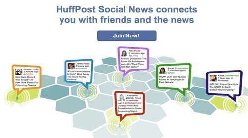 Huffington Post y Facebook se unen para crear un red social de noticias