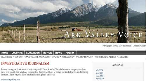 """""""Ark Valley Voice"""" desafía el estancamiento de la prensa tradicional"""