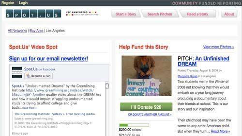 Periodismo de investigación financiado por los ciudadanos