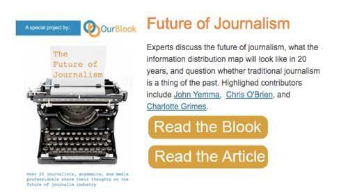 """""""Future of Journalism"""": una página para el análisis sobre el futuro del periodismo"""