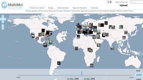 """MaYoMo: Una nueva """"red social de noticias"""" para estudiantes de periodismo y periodistas ciudadanos móviles"""