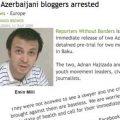 La blogosfera responde con una vídeo campaña en favor de la liberación de los bloggers Adnan Hajizade y Emin Milli