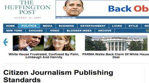 Normas editoriales para periodistas ciudadanos del Huffington Post