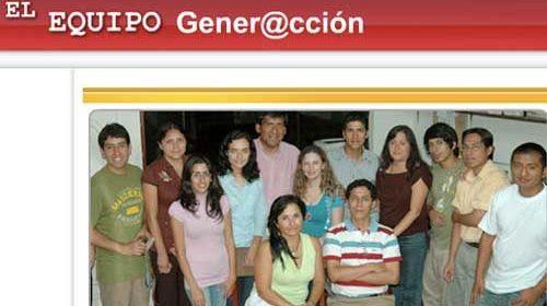 El portal Gener@cción promoverá el periodismo ciudadano en Perú