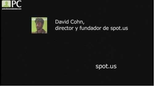 """David Cohn: """"Puede haber periodismo sin periódicos"""""""