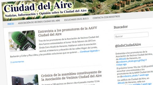 Ciudad del Aire, un proyecto de periodismo vecinal