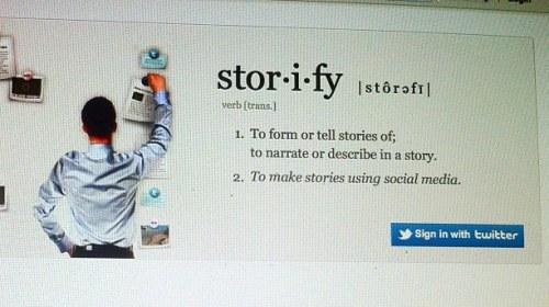 Storify como herramienta periodística: algunas pautas