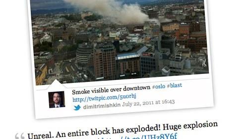 Gizmodo recopila información ciudadana sobre los atentados de Noruega