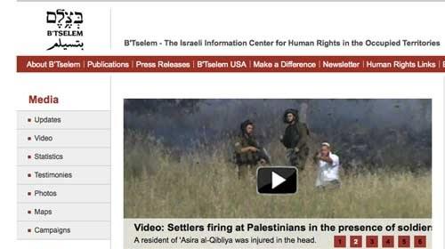 B'Tselem reparte cámaras de vídeo para denunciar la violencia en Israel