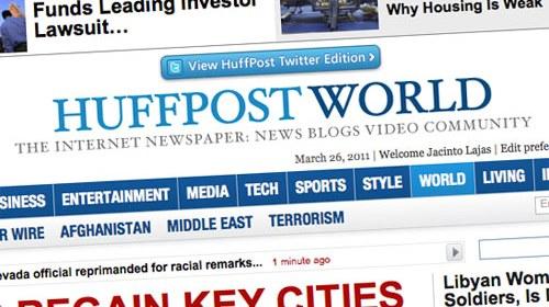 The Huffington Post iniciará en el Reino Unido su expansión internacional