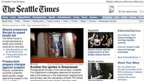 Seattle Times se enfrenta a la crisis con la colaboración de 5 blogs locales