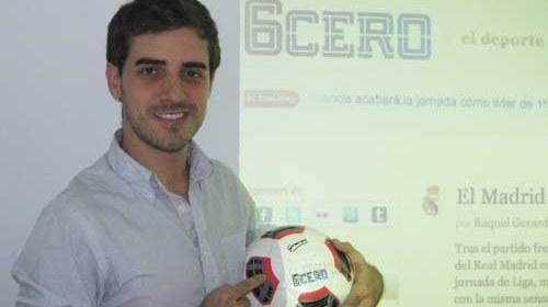 """Jorge Gonzalo: """"6CERO es la 1ª web deportiva en la que el contenido es creado íntegramente por los propios usuarios"""""""