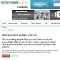 Examiner.com busca periodistas ciudadanos para continuar su expasión en Canadá